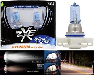 Sylvania Silverstar ZXE PSX24W 2504 24W Two Bulbs Fog Light Replacement Upgrade