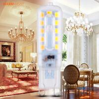 220V Dimmable G9 3/5W LED Bulb Light Spotlight Silicone Crystal Halogen Lamp YK