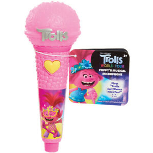 Trolls Poppy's Microphone World Tour Musical with Light & Sounds Role-Play Toy