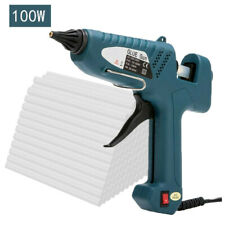 More details for 100w hot melt glue gun trigger electric adhesive sticks for hobby craft