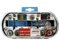 H1 Replacement Light Bulbs and Fuse Set 30 Piece Kit Van Car Motor Bike Freepost