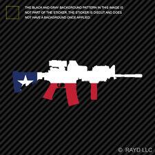 Texas State Shape AR15 Sticker Decal AR-15 M16 M-16 TX
