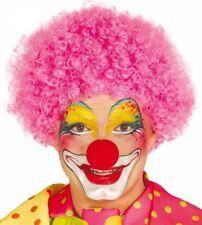 Parrucca clown rosa economica