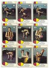 1975 Scanlens HAWTHORN Team Set (11 Cards)