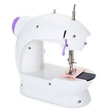 Maquina De Coser Electrica Mano Portatil Portable Mini Dos velocidades Pedal LED
