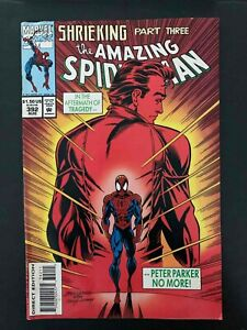 AMAZING SPIDER-MAN  #392  MARVEL COMICS 1994 FN  WATER DAMAGE