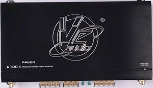 VE-Audio AB100.4 640w 4 Channel Sound Quality Amplifier VE Audio