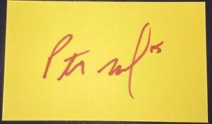 Patrick Mahomes Signed Autographed Card NFL Auto Kansas City Chiefs Autograph