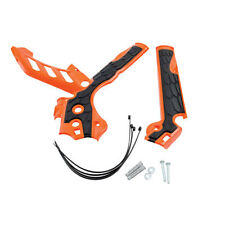 ACERBIS X-GRIP FRAME GUARDS PROTECTORS ORANGE FITS KTM SXF250 2011 2012 2013