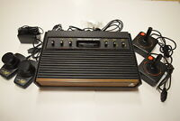 Atari 2600 Woodgrain 6-Switch Console Video Game System