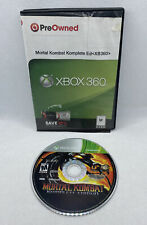 Mortal Kombat Komplete Edition (Microsoft Xbox 360, 2012) Disc Only, Tested!