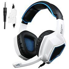 Casque Gaming pour Xbox One S Ps4 Gamer SADES Sa920 avec Microphone basses Sté