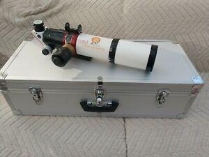 Lunt LS80 Pressure Tuning Ha Solar Telescope With B1800 Blocking Filter