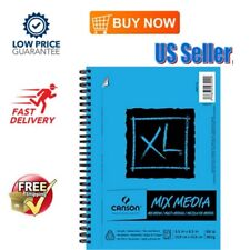 XL Series Mix Media Sketchbook Spiral Pad Sketching Coil 60 Sheets Heavy Sizing