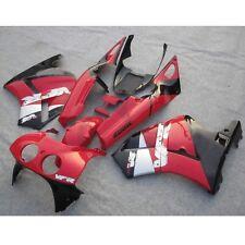 Red ABS Hand Made Fairing Bodywork Kit For Honda VFR400R VFR 400 R NC30 88-92 91