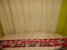 """1.FC Nürnberg Fan Schal """"1.FC Nürnberg SPIELE-TORE-SIEGE"""" + """"ALWAYS AND FOREVER"""""""