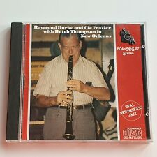 Raymond Burke & Cie Frazier with Butch Thompson in New Orleans (CD) – Excellent