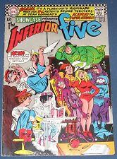 Showcase #65 Dec 1966 Inferior Five  X-Men Parody