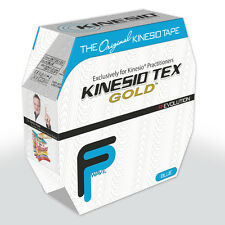 KINESIO FP Tape 31.5m x 5cm Bulk Clinic Roll BLUE. Kinesiology - injury support