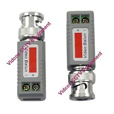 1 Pair Passive Video Balun Connector BNC to UTP Cat5 Cat6 for CCTV Camera System