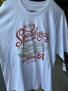 Hotwheels 68 Speedway Racing T Shirt XL New With Tags