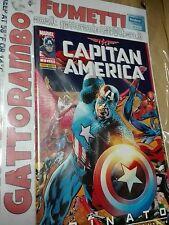 Capitan America N.3  Rinato imbustato - Marvel Panini comics Qs. Edicola