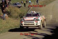 Didier Auriol Toyota Celica Turbo 4WD Winner New Zealnd Rally 1994 Photograph 2