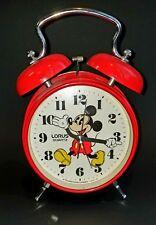 Disney lorus mickey mouse clock