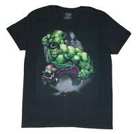 Marvel Men's T Shirt Hulk Ground Slam Avengers Graphic Tee