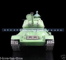 Henglong 1/16 Russia T34-85 RC Tank Metal Road Wheels 360 Degrees Turrret 3909-1