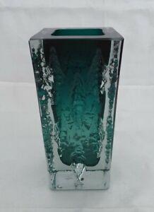 Glas Vase eckig