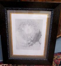 JACQUES VILLON VINTAGE FINE EDITION RELIGIOUS ETCHING W/ MUSEUM QUALITY FRAMING