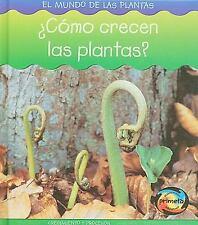 ¿Cómo crecen las plantas? (Mundo de las Plantas) (Spanish Edition)-ExLibrary