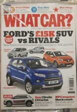 WHAT CAR ?   MAGAZINE March  ENGLISH MONTHLY