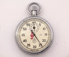 Stopwatch  Agat Секундомер Pocket Mechanical Made in USSR RARE