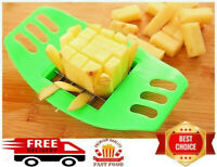 POTATO CHIPPER FRENCH FRIES CHIP CHOPPER VEGETABLE CUTTER SLICER KITCHENWARE