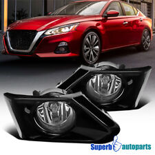 For 2019-2020 Nissan Altima Front Fog Lamps Bumper Driving Lights Switch