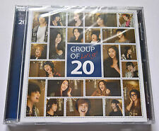 Group of 20 Let's Go! Korea Press CD Single - SNSD Kara f(X) Beast SHINee IU