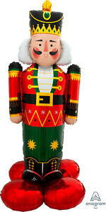 Airloonz Nutcracker Large Supershape 1.54 mtrs over 5 feet Tall Air Fill
