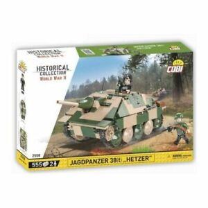 "COBI 2558 Jagdpanzer 38t ""HETZER"" Teile 555 Figur 2 NEU / OVP"