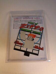 Light Works USA Animated Neon Signs Kit #3081 Zippo Windproof Lighter