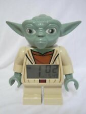 "Lego Star Wars Yoda Alarm Clock Digital 7"" Tall 2014"