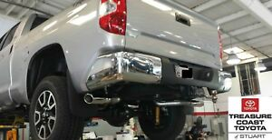 NEW OEM TOYOTA TUNDRA TRD PERFOMANCE DUAL EXHAUST SYSTEM & TRD TAILPIPE KIT