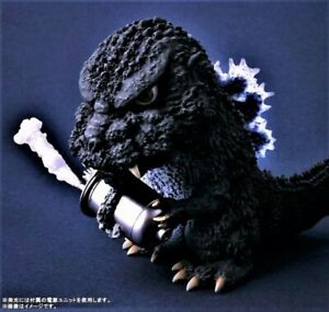 X-PLUS DefoReal SD 1984 GODZILLA Figure RIC ver. with LIGHT-UP FINS USA Seller