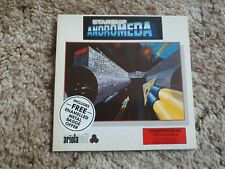Starship Andromeda Ariolasoft Game Commodore 64 Diskette 5.25 5 1/4 Disc