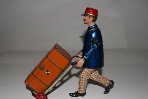 1900's Lehmann Toys, Adam the Porter, Nice Original