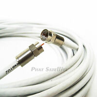 150ft RG-6 COAXIAL 18AWG MADE IN USA 3GHZ UL ETL RATED 150 FEET COAX CABLE WIRE
