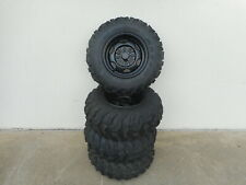 Complete Set of Honda Rancher Stock Tires - 24x8x12 / 24x10x11 (Wheels Included)