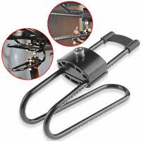 Adjustable Bicycle Saddle Suspension Device Black Shock Spring Aluminum Absorber