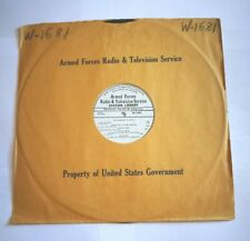 BUCK OWENS / VARIOUS  -  ARMED FORCES RADIO & TELEVISION SERVICE -  LP  U.S.A.